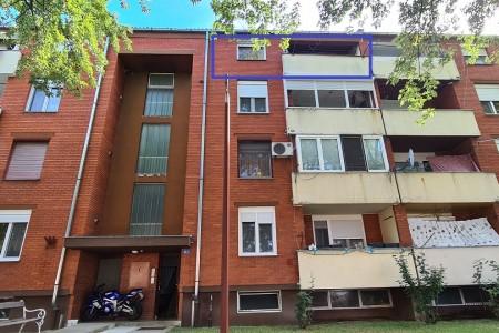 Belišće, dvosoban stan na 3. katu, 57,58 m2