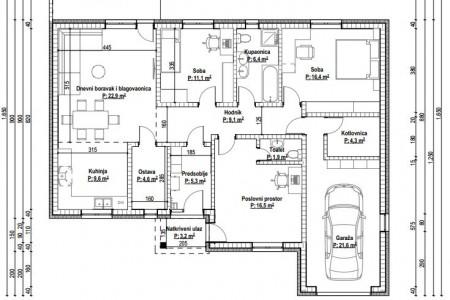 Obiteljska kuća, Tenja