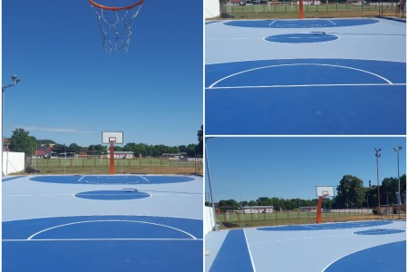 Vanjsko košarkaško igralište, Belišće