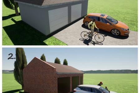 Pomoćna građevina - garaža, Bizovac